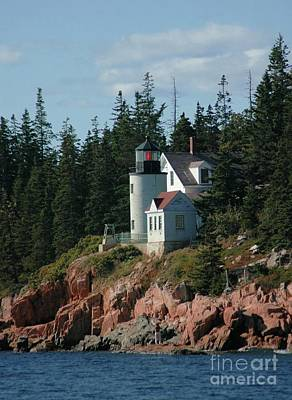 State Love Nancy Ingersoll - Bear Island Lighthouse by Kathleen Struckle
