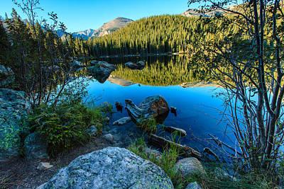 Photograph - Bear Lake 4 by Ben Graham