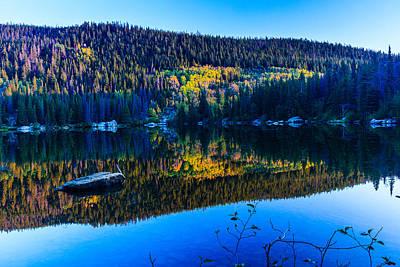 Photograph - Bear Lake At Dawn by Ben Graham