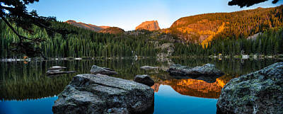 Rocky Mountain National Park Photograph - Bear Lake Rocky Mntn Natl Park Colorado by Steve Gadomski