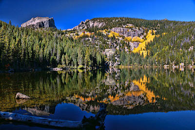 Photograph - Bear Lake - Rocky Mountain National Park by Allen Beatty