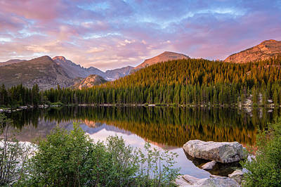 Photograph - Bear Lake Sunrise by Adam Pender