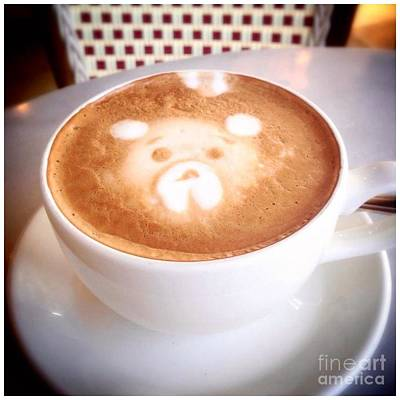 Photograph - Bear Latte by Susan Garren