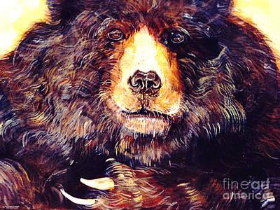 Painting - Bear by Lizi Beard-Ward