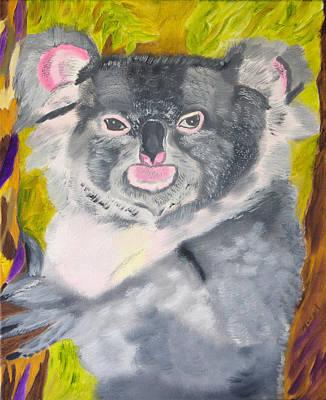 Koala Painting - Koala Hug by Meryl Goudey