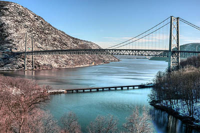 Bear Mountain Bridge Art Print by JC Findley