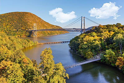 Photograph - Bear Mountain Bridge by Susan Candelario