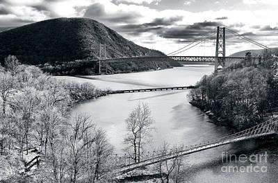 Photograph - Bear Mountain Bridges by John Rizzuto