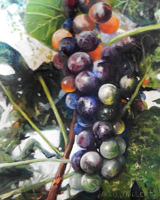 Wall Art - Painting - Bear Much Fruit by Willis Miller