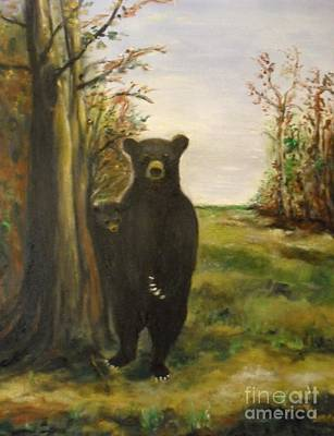 Painting - Bear Necessity by Laurie L