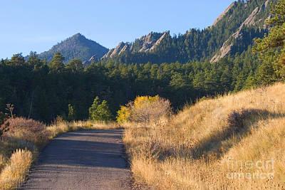 Steven Krull Royalty-Free and Rights-Managed Images - Bear Peak by Steven Krull