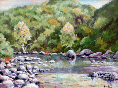 Painting - Bear River Morning by William Reed