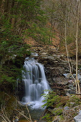 Photograph - Bear Run Falls #1 by Joel E Blyler