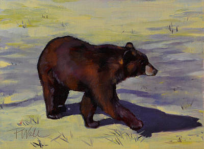 Painting - Bear Shadows by Pattie Wall