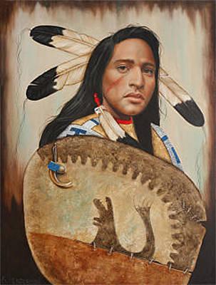 Painti Painting - Bear Talisman by K Henderson
