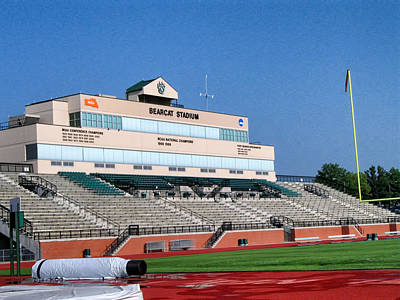 Bearcat Stadium Art Print
