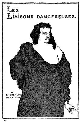 Drawing - Beardsley Count Valmont by Granger