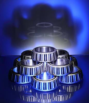 Photograph - Bearings In Blue by David Andersen