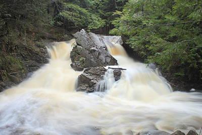 Photograph - Bear's Den Waterfall After The Storm by John Burk