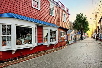 Photograph - Bearskin Neck Rockport Massachusetts by Susan Candelario
