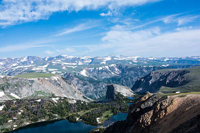 Photograph - Beartooth Long Range Views by Michael Gooch