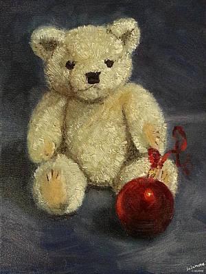 Painting - Beary Christmas by Brenda Salamone