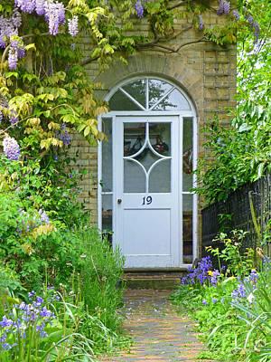 Beat A Path To My Door Art Print by Gill Billington