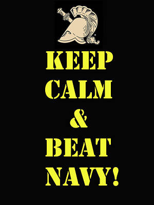 Beat Navy Art Print