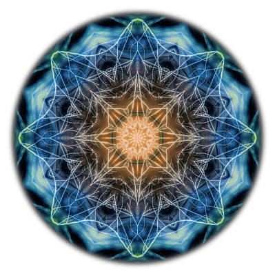 Photograph - Beat Of The World Mandala by Beth Sawickie
