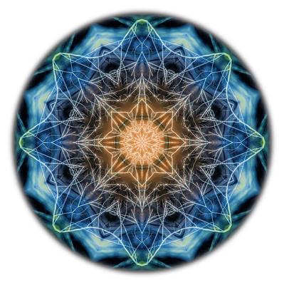 Photograph - Beat Of The World Mandala by Beth Sawickie