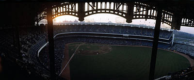 Beatiful View Of Old Yankee Stadium Art Print by Retro Images Archive