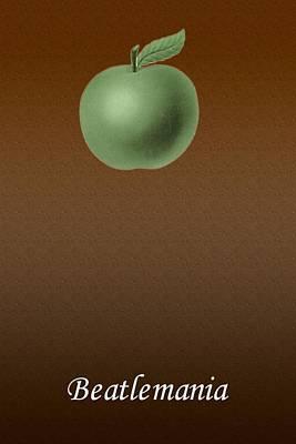 Apple Records Digital Art - Beatlemania by Allen Beilschmidt