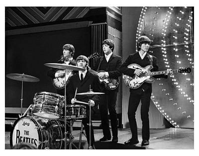 Harrison Photograph - Beatles 1966 Limited Edition by Chris Walter