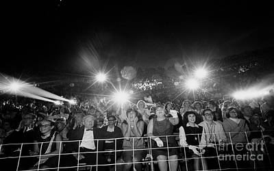 Ringo Photograph - Beatles Fans At Concert, 1964 by Larry Mulvehill