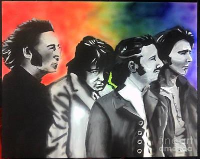 Beatles For Sale Art Print by Jacob Logan