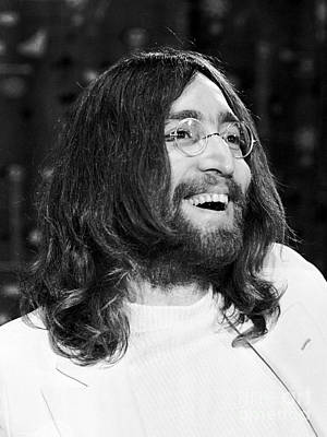 John Lennon Photograph - Beatles John Lennon 1969 by Chris Walter
