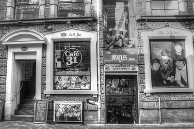 Fab Four Photograph - Beatles Shop by Frank Luxford