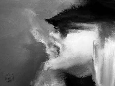 Beau Bella Sexy Smoke Print by Sir Josef - Social Critic - ART
