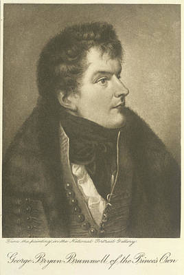 And Nash Photograph - Beau Brummel by British Library