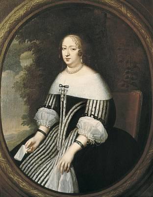 Beaubrun, Charles 1604 - 1692. Anne Art Print by Everett