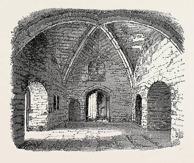 Indoor Drawing - Beauchamp Tower Prison In The Tower Of London by English School
