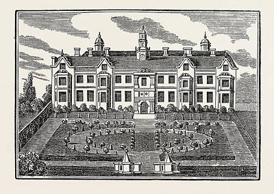Beaufort House, Chelsea, London, Uk, Britain Art Print by English School