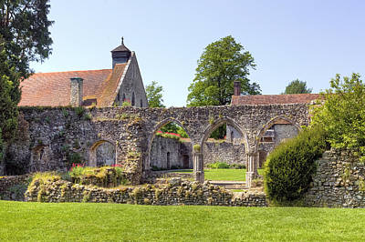 Beaulieu Abbey Art Print