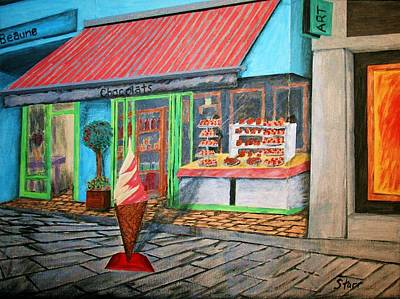 Beaune Chocolats Art Print by Irving Starr
