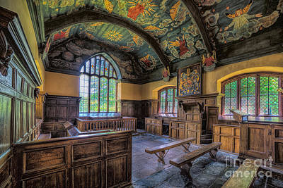 Stained Photograph - Beautiful 17th Century Chapel by Adrian Evans