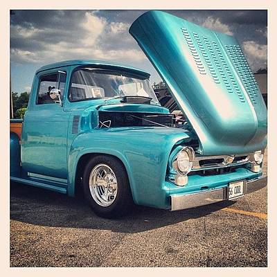 Truck Photograph - Beautiful '56 by Mike Maher