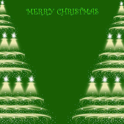 Beautiful Abstract Background Of Merry Christmas Original