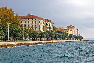 Photograph - Beautiful Adriatic Town Of Zadar Waterfront by Brch Photography