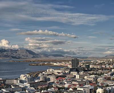Photograph - Reykjavik Iceland Skyline by Marianne Campolongo