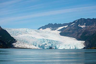 Beautiful Aialik Glacier In Kenair Art Print by Rick Daley
